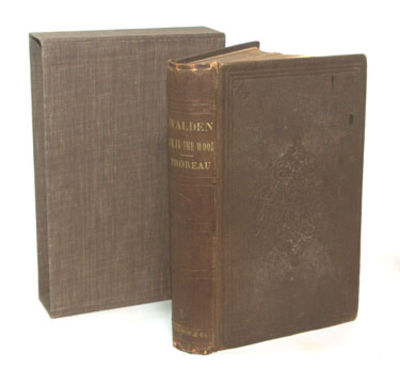 Boston: Ticknor And Fields, 1854. First Edition. First Printing Very good+ in its original verticall...