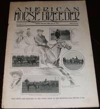 image of Vintage Issue of the American Horse Breeder Magazine for May 22, 1912