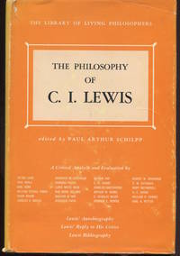 The Philosophy of C. I. Lewis.