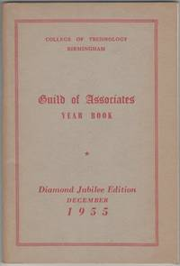 image of Guild of Associates Year Book Diamond Jubilee Edition December 1955