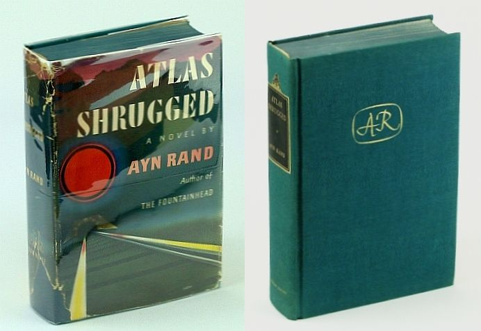 Atlas Shrugged First Printing By Ayn Rand First Edition 1957 From Rarenonfiction Com And Biblio Co Uk