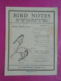 BIRD NOTES AND NEWS Vol. XXII  Spring Number 1947 No. 5