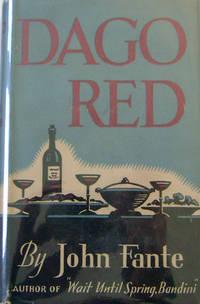 Dago Red (Dedication Copy Inscribed to Carey McWilliams)