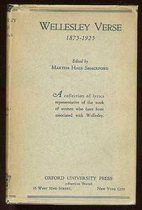 New York: Oxford University Press, 1925. Hardcover. Fine/Very Good. First edition. Fine in attractiv...