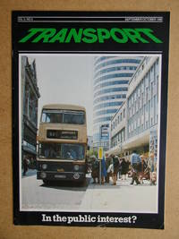 Transport. September/October 1980. Volume 1, No. 5. Official Journal of the Chartered Institute of Transport.
