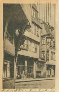 Germany – Frankfurt a. M. Hinter dem Lamchen, kum mohrenkopf used Postcard