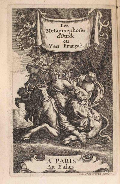 Paris: Claude Barin, 1669. (Corneille, Thomas , translator). Ovid (43 B.C. 17 or 18 A.D.). Les metam...