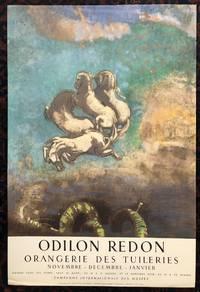 ODILON REDON. ORANGERIE DES TUILERIES. November- December- Janvier.  1965. (Original Art...