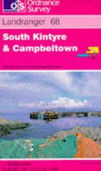 image of South Kintyre and Campbeltown (Landranger Maps)