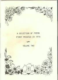 A Selection of Poems First Printed in 1914 Vol.2