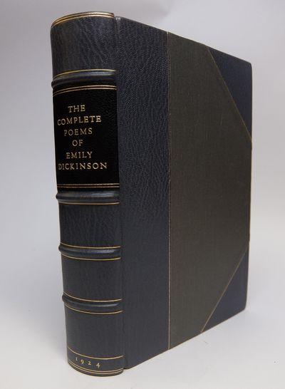 Boston: Little Brown, 1960. hardcover. Thick tall 8vo, handsomely rebound in 3/4 gray morocco, black...