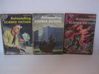 Astounding Science Fiction 1957- 3  issues The Dawning Light