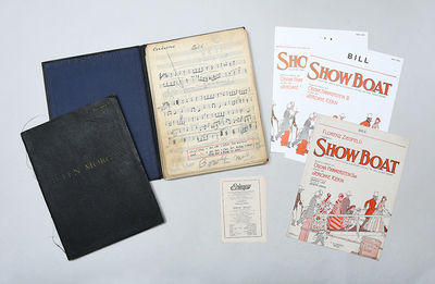 Collection of manuscript band parts...