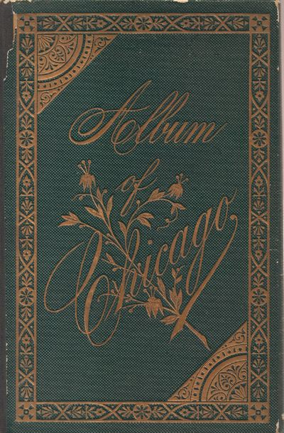 Portland, ME: Chisholm Brothers. Good. Viewbook. Green pebbled boards with elaborate gilt imprint on...