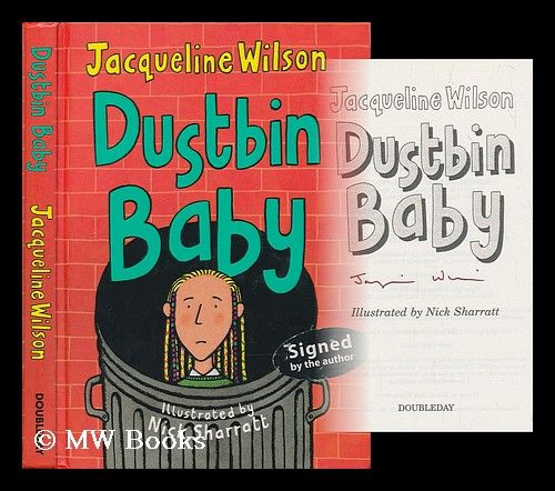 jacqueline wilson coloring pages - dustbin baby jacqueline wilson illustrated by nick