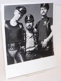 Photograph of three Leathermen of San Francisco