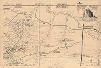 Archive of 37 Original Norton Allen Maps Drawn for Desert Magazine