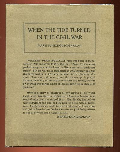 Indianapolis: Hollenbeck Press, 1929. Hardcover. Near Fine/Near Fine. First edition. Near fine in a ...