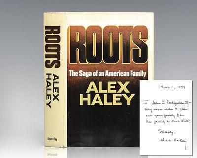 Garden City, NY: Doubleday & Company, Inc, 1976. First edition of Haley's classic work. Octavo, orig...