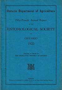 image of FIFTY-FOURTH ANNUAL REPORT OF THE ENTOMOLOGICAL SOCIETY OF ONTARIO 1923.
