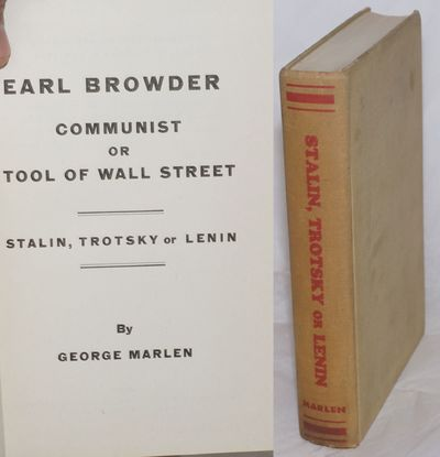 New York: the author, 1937. Hardcover. 493p., previous owner's name else very good condition, mimeog...