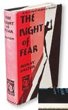 The Night of Fear  (Harper Sealed Mystery with Publisher's Seal Intact)