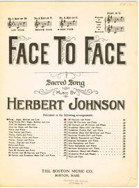 FACE TO FACE ~ Sacred Song (for HIGH voice in Key of G)