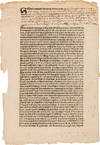 View Image 1 of 3 for A SIXTEENTH CENTURY MEXICAN BROADSIDE Inventory #WRCAM56199