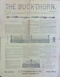 Buck-Thorn. Vol. 3. No. 4. September, 1883.