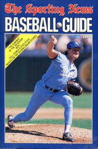 The Sporting News Baseball Guide 1990 (Brett Saberhagen, Kansas City Royals, on cover)