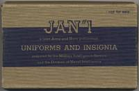 J.A.N. No. 1: Joint Army and Navy Publication. Uniforms And Insignia