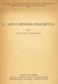 C.ATEI CAPITONIS FRAGMENTA