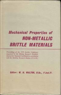 Mechanical Properties of Non-Metallic Brittle Materials