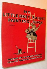 My Little Grey Rabbit Painting Book - Number 1 (One)