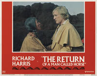 image of The Return of a Man Called Horse (Collection of 8 original lobby cards from the 1976 film)