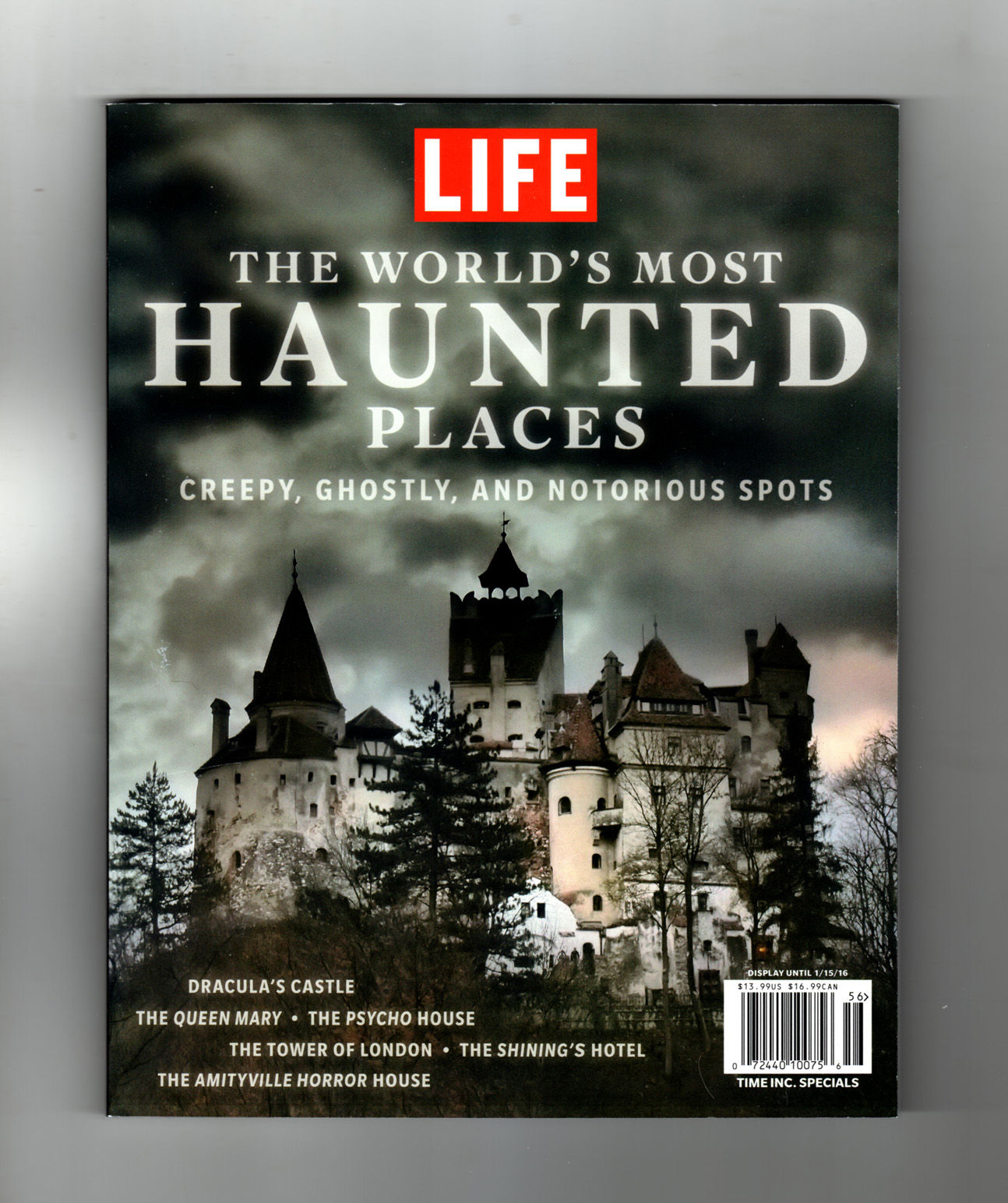 The World's Most Haunted Places. 2015. Ghostly, Ghastly U