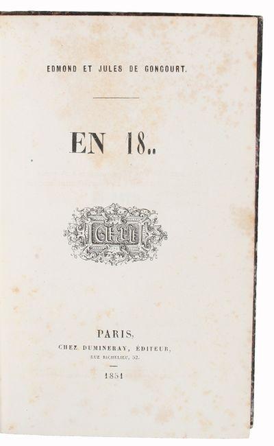 En 18.. - [ONE OF 84 COPIES - GEORGE...