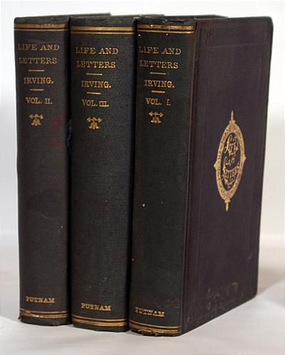 New York: G. P. Putnam's Sons, 1885-1886. Revised and Condensed in three volumes. All three volumes ...
