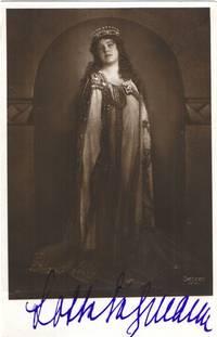 image of Postcard photo by Setzer of Vienna, signed, (Lotte, 1888-1976, German Soprano)