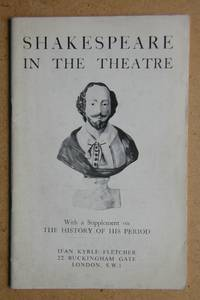 Ifan Kyrle Fletcher: Catalogue 212. Shakespeare in the Theatre.