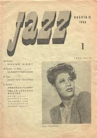 image of Jazz: list věnovaný jazzu a moderní hudbě [Jazz: a journal devoted to Jazz and modern music]. Vols. I, nos. 1-5, vol. II, nos. 1-10 (all published)