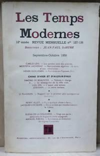 Les Temps Modernes, No. 127-128, Sept/Oct 1956