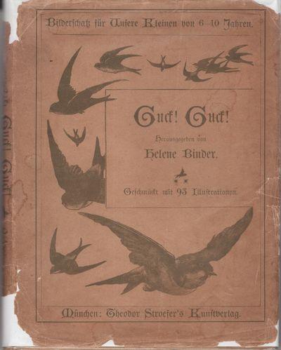 Munchen: Theodor Stroefer's Kunstverlag, 1910. Hardcover. Very Good/Very Good. Hardcover. Blue cloth...