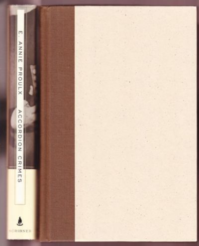 NY: Scribner, 1996. First edition, first prnt. Quarter cloth and paper-covered boards. Signed by Pro...