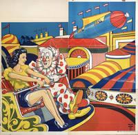 Untitled. Woman & Clown On Ferris Wheel