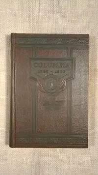 Columbia Capital City of South Carolina, 1786-1936