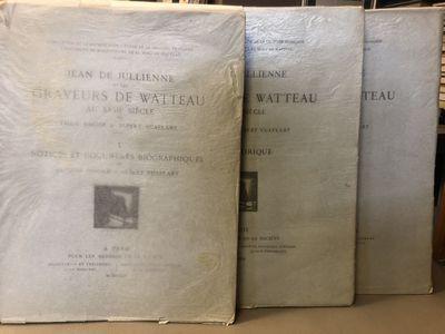 Paris, France: La Société Pour L'Étude de la Gravure Française, 1922, 1929. First Edition. Softc...