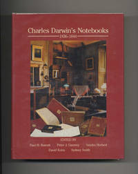 Charles Darwin's Notebooks, 1836-1844: Geology, Transmutation of Species,  Metaphysical Enquiries  - 1st Edition/1st Printing