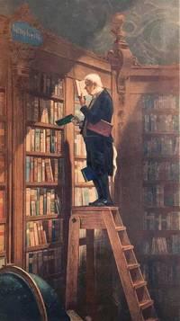 """[Chromolithograph, original:] """"The Book-Worm."""""""