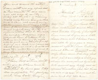 "Autograph Letter, Signed (""George""), to his brother, giving his eye-witness account of the assassination of Abraham Lincoln on the night of April 14th, 1865"